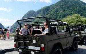 Джиппинг в Абхазии из Сочи
