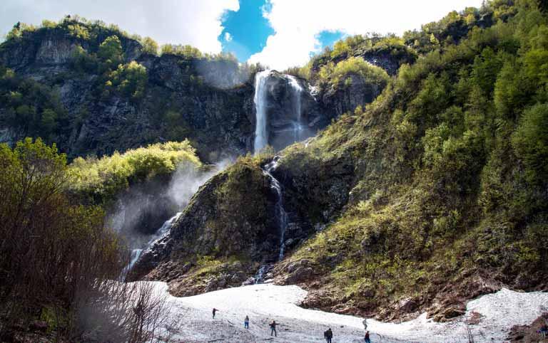 Экскурсия на Водопад Поликаря Красная Поляна