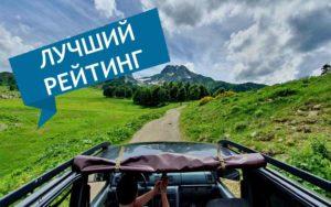 Джиппинг в Абхазии рейтинг